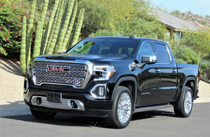 Large and loaded: GMC Sierra Denali boosts size, luxury