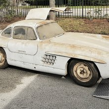 Barn-find Mercedes-Benz 300SL Gullwing coupe heading to Amelia Island concours