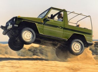 Civilian Mercedes-Benz G-Class turns 40
