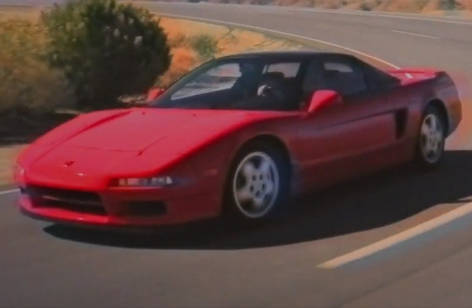 The original Acura NSX almost came without VTEC. | Screenshot