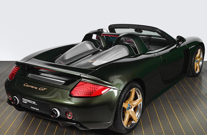 Porsche Classic restores Carrera GT at owner's request