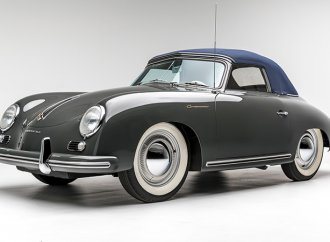 Remembering the short-lived 1955 Porsche Continental cabriolet