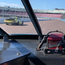 This is what it's like to ride in a NASCAR stock car