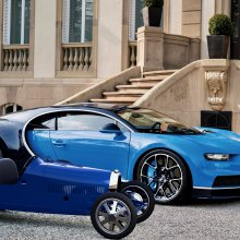 Bugatti birthday surprise: There's a new Baby