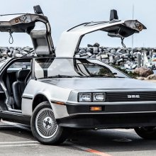 Movie star 1981 DeLorean DMC-12 survivor with ultra-low mileage