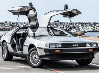 Movie icon 1981 DeLorean DMC-12 survivor with ultra-low mileage