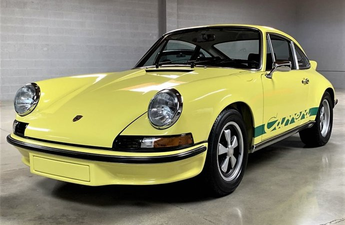 Iconic Porsche 911 Carrera RS with documented history