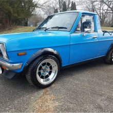 Upgraded Datsun pickup imported from Australia