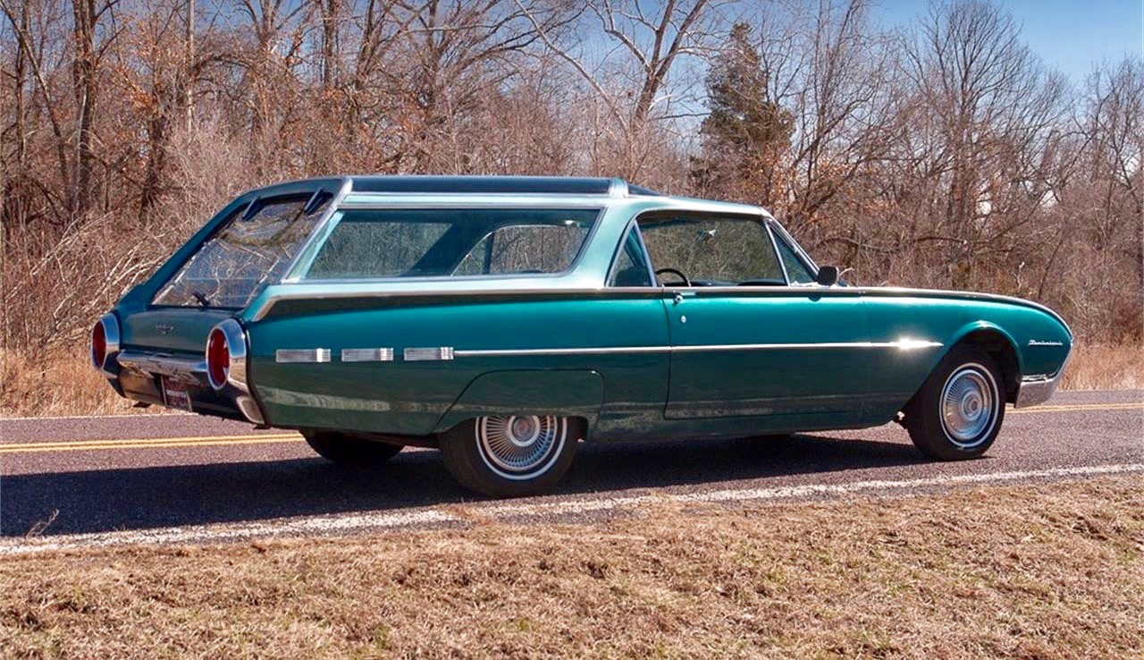 One Off 62 Ford Thunderbird Has Olds Vista Cruiser Roof