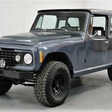 Resto-mod 1973 Jeep Commando with Chevy V8 and off-road gear