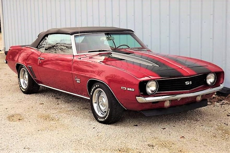 Ready to rumble, 1969 Camaro SS convertible is top-down performer