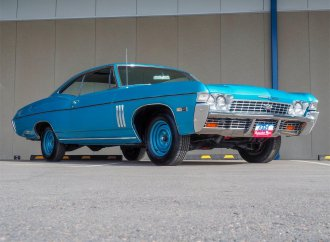 One-owner '68 Impala SS Sport Coupe with 427