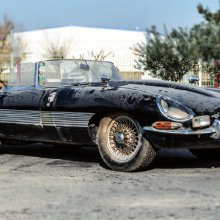 Barn-find Jaguar E-type was daily driver in Africa for 40 years