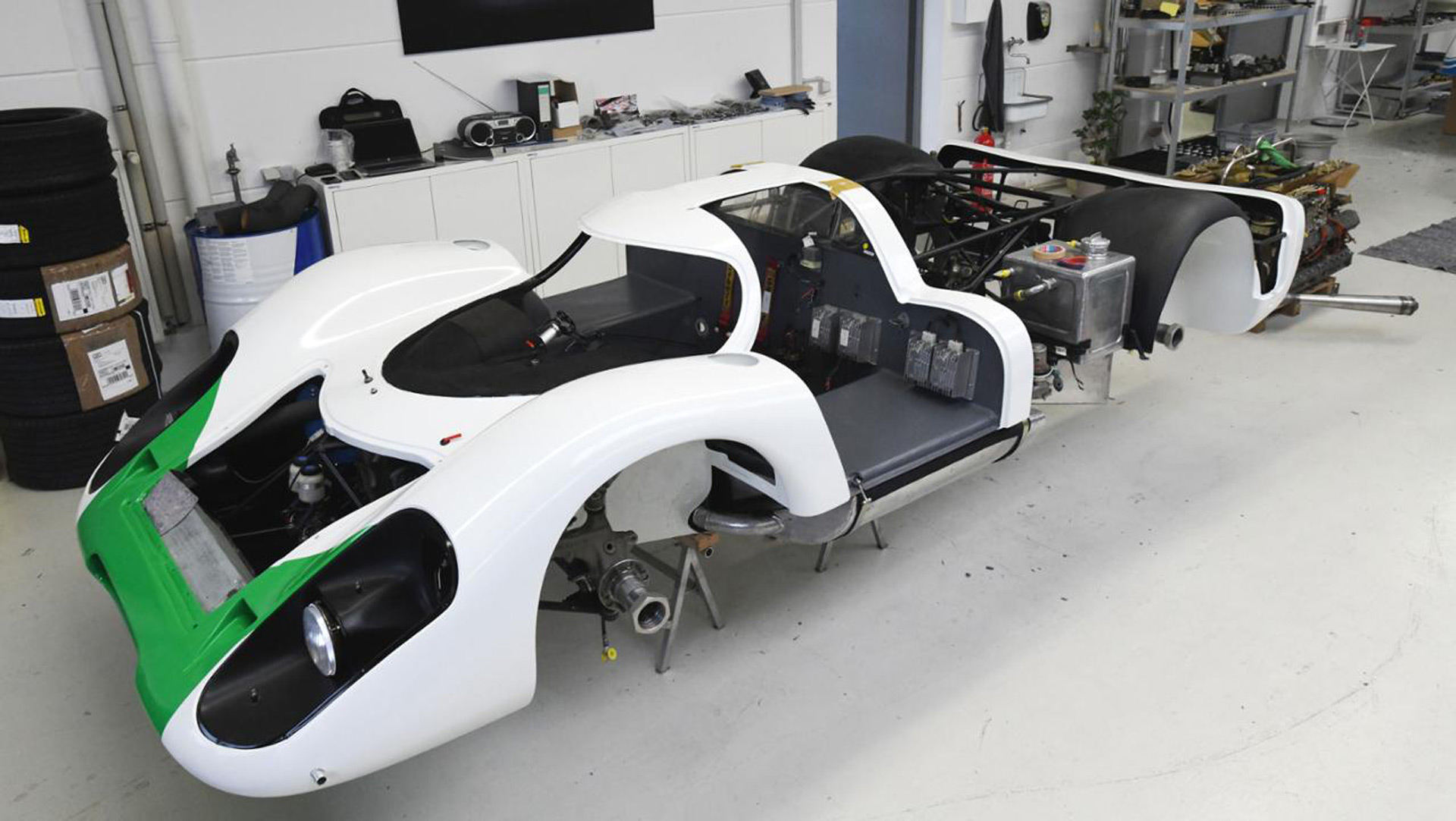 Porsche put a lot of work into restoring the original 917.