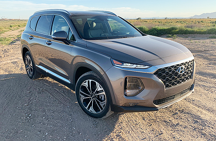 The 2019 Hyundai Santa Fe is one of the best entries in the mid-size crossover SUV class. | Carter Nacke photos