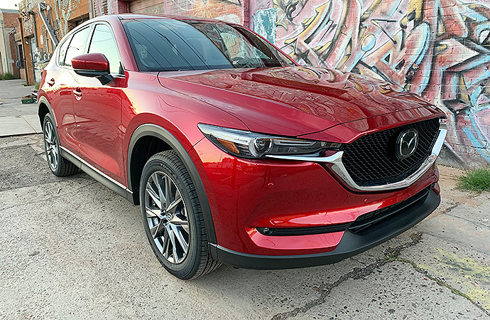 The 2019 Mazda CX-5 is making a deserved name for itself in the crowded compact SUV market. | Carter Nacke photos