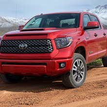 Toyota Tundra: Workhorse truck starting to show its age