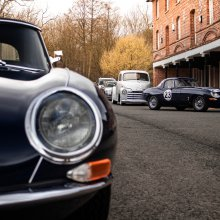 UK restoration shops host 'Coffee, Cakes and Classic Cars'