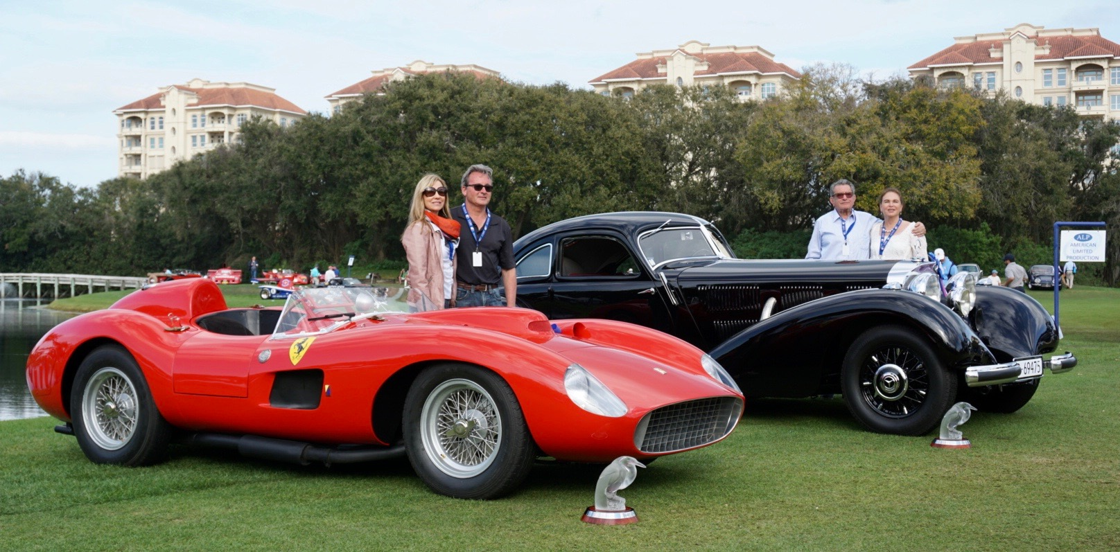 Amelia Island, Mercedes-Benz 540K fastback, star-driven Ferrari take top honors at Amelia Island, ClassicCars.com Journal