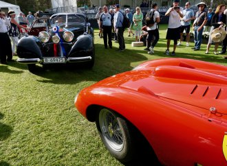 Mercedes-Benz 540K fastback, star-driven Ferrari take top honors at Amelia Island