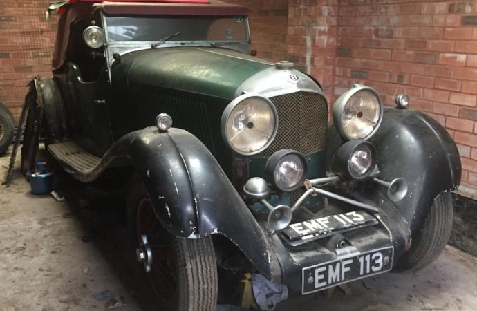 NOS 1936 Bentley tourer heading to auction in England