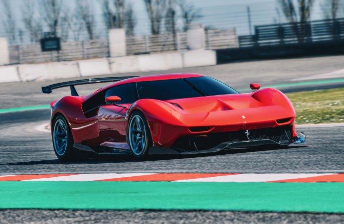 Ferrari shows off the one-off P80/C