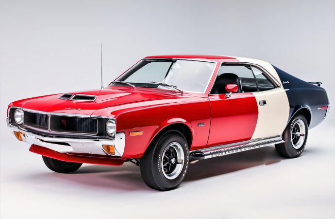 Unique mashup: Rare AMC Javelin, a top restorer, and the Amish