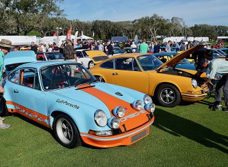 Amelia Island's Saturday show is open to every sort of car