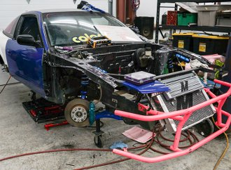 Watch Andrew Schulte get his 240SX ready for Formula Drift Pro2