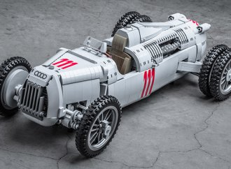 Help make this Auto Union Type C race car a Lego kit
