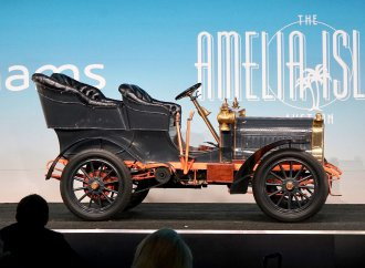 Big brass era collection highlights opening day at Amelia auctions