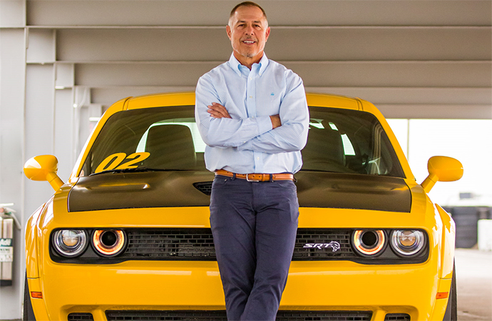 The Bob Bondurant School of High Performance Driving will soon be under new ownership and lead by new CEO Bruce Belser, pictured. | Bob Bondurant School of High Performance Driving photo