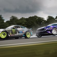RTR Pack, including Gittin Jr. Formula Drift Mustang, released for 'Forza' game