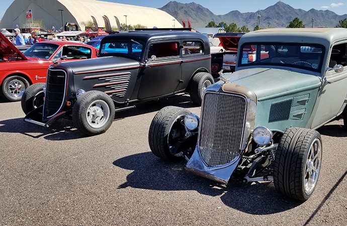 Hot rods and classic cars were the stars of the show at the Goodguys 10th Spring Nationals. | Rebecca Nguyen photo