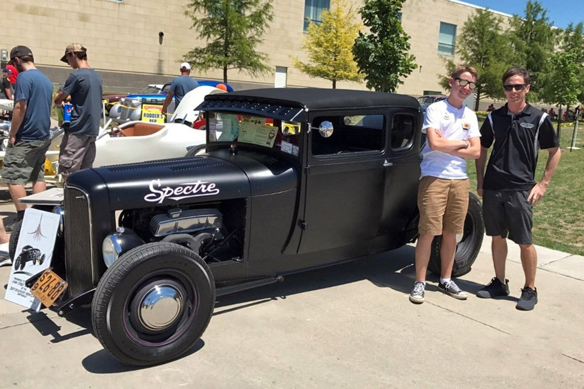 The winner of Goodguys Custom & Rod Association's Youngguys program will win a trip to this year's SEMA Show. | Goodguys photo