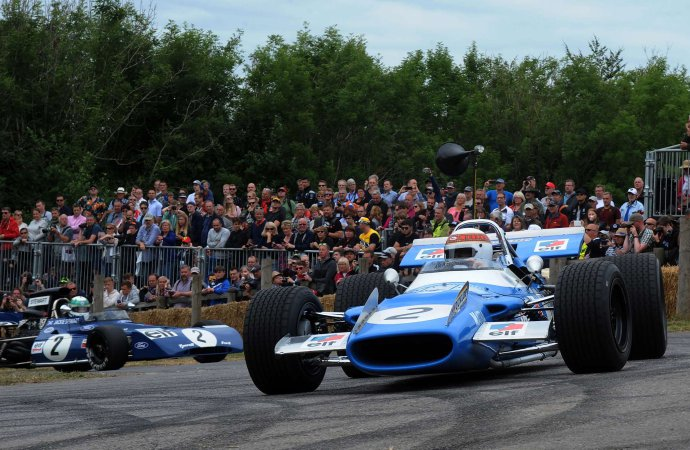 Jackie Stewart gets double salute at 2019 Goodwood Festival of Speed