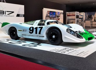 Porsche brings the original 917 race car back to life