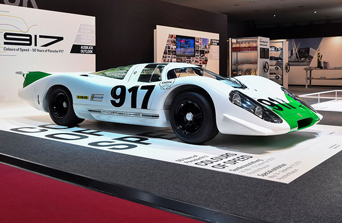 The original Porsche 917, which was never raced, has been returned to its glorious former looks. | Porsche photos