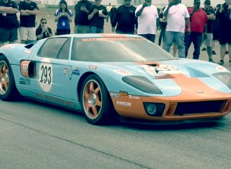 Modified Ford GT becomes first street-legal car to hit 300 mph