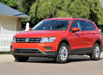 Base-model VW Tiguan rises to top of its class in drivability