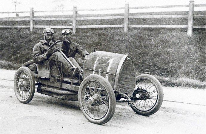 Egg or horseshoe: Which inspired Ettore Bugatti?