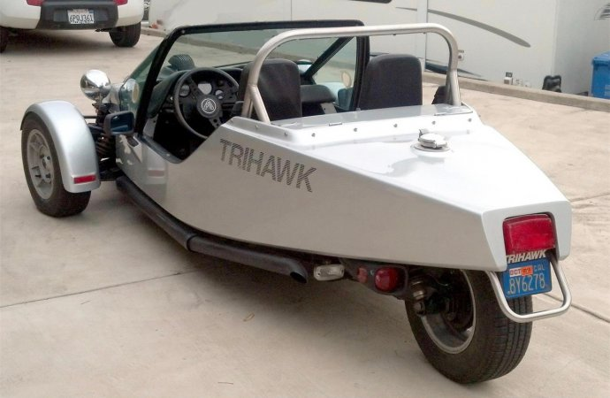 Trihawk was a car/motorcycle hybrid