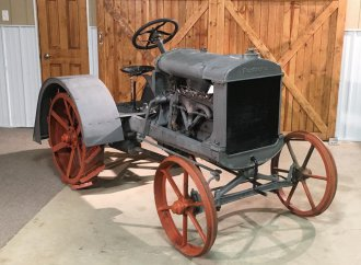 Tractor made by Henry Ford for his grandchildren up for sale