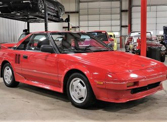 Toyota MR2 mid-engine sports car, greater than sum of its parts
