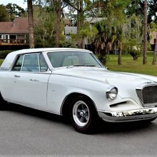Soaring '62 Studebaker GT Hawk with sporty look, luxury trim