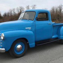 Post-war Chevy pickups were popular for their 'Advance Design'