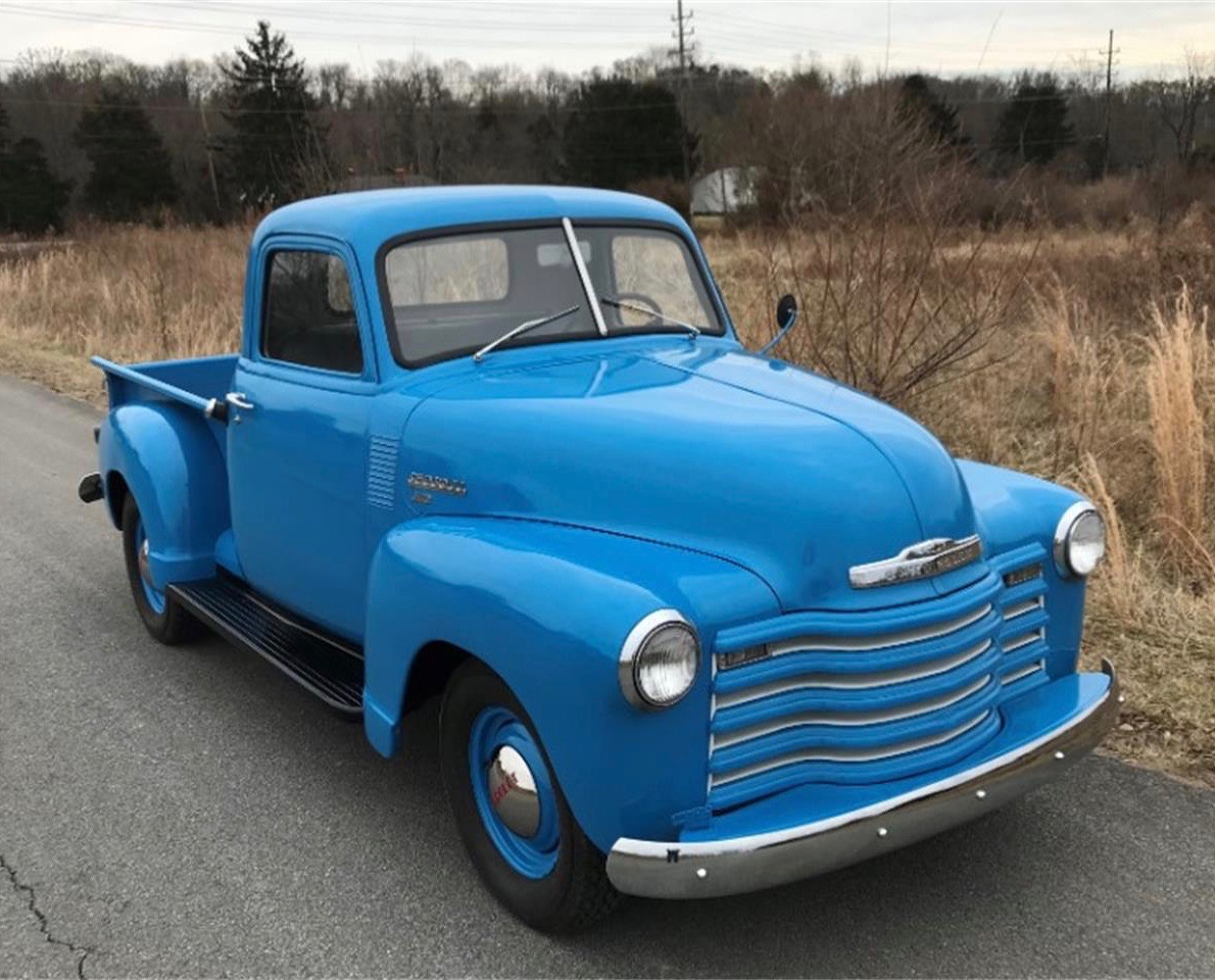 1949 Chevy pickup, Post-war Chevy pickups were popular for their 'Advance Design', ClassicCars.com Journal