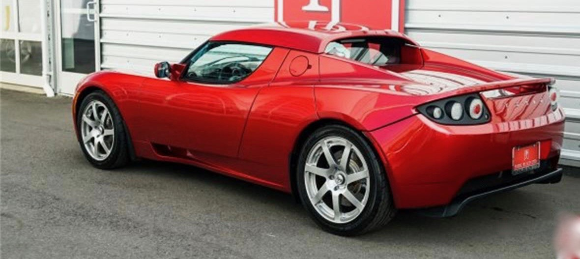 2008 Tesla Roadster, 2008 Tesla Roadster is Pick of the Day, ClassicCars.com Journal
