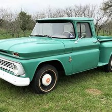 Low-mileage survivor: '63 Chevy C/K 10 Step-Side pickup truck