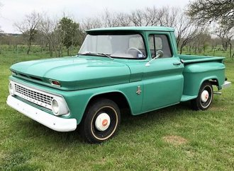 Low-mileage survivor: '63 Chevy C/K 10 Step-Side pickup truck